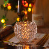 Embossed Elegent Candle Holder