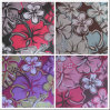 600d Oxford Big Flower Printing Polyester Fabric with PVC