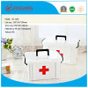 Hotsale Top Quality Medium Size First Aid Plastic Medicine Box Multi-Function Strong Impact Drug ...