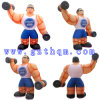 Muscle Man Inflatable Cartoon Model