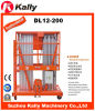 Hydraulic Double Mast Aluminum Alloy Elevators Personal Lift (DL12-200)