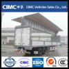 Cimc 3 Axle Wing Open Cargo Trailer