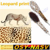 Leopard Print! Nasv-100 LCD Ceramic Electronic Hair Straightener Comb