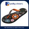 Colorful Flower Plastic Women Slipper Pcu