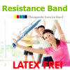 Gymnastic Exercise Rubber Band Flat Resistance Bands for Workout Eco-Friendly Fitness Band