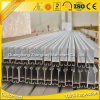 6063 T5 Anodized Aluminum Extrusions H Profil for Window & Door