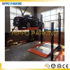 Vertical Two Post Car Parking Lift Simple Parking Lifters
