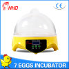Hhd Factory Price Mini Egg Incubator for Sale Yz9-7