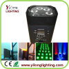 Wedding Party Stage Decoration 6PCS Rgabw Battery Oprated LED Light