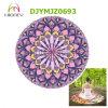 Round Yoga Mat Custom Print Mandala Meditation Mat 140cm Diameter