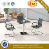 Small Size Office Desk Glass Four Seats Coffee Table (NS-GD062)