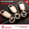 2017 Metal Electronic USB Charged Key Chain Cigarette Lighter