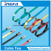 PVC Jacket 201 Stainless Steel Cable Ties for General Bundling