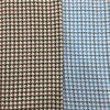 Slender Check Houndstooth Wool Fabric Ready