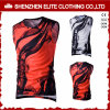 High Quality Fashion Sublimation Printing Singlets Supplier (ELTVI-24)