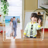 Square Clear Acrylic Magnetic Photo Frames