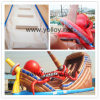 Giant Inflatable Kraken Bouncy Slide with Large Octopus