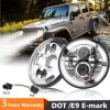 Cheap Super Bright High Low Beam 7inch Round LED Driving Headlight off Road
