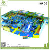 Kids Amusement Park Indoor Playground with Plastic Slides