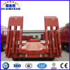 60t Excavator Transport Gooseneck Lowboy Trailer/Low Bed Semi Trailer