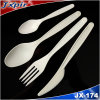 Cornstarch Material 100%Biodegradable Plastic Cutlery Jx174