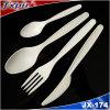 Cornstarch Material 100%Biodegradable Plastic Cutlery Jx174