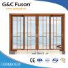 Customized Powder Coated Aluminum Sliding Doors with Double Glazing