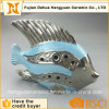 Garden Decorative Ceramic Blue Fish