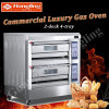 Hongling Baking Equipment Luxurious Gas Deck Oven for Sales (HLY-204D)
