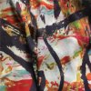 Rayon Georgette Fabric. Rayon Print Georgette Fabric