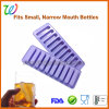 Wholesales 10 Cavity No-Spill Silicone Ice Stick Tray for Water Bottles