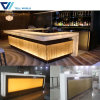 Commercial Bar Counter with LED Light for Sale