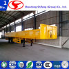 Heavy Duty Hydraulic Side Wall Low Bed Semi Trailer/Flatable Semi Trailer