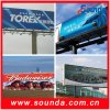 Outdoor Glossy Laminated Frontlit Flex Banner for Printing