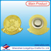 UAE Souvenir Badge Gold Custom Badge 3D Leader′s Face Image