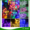 Peach Flower Solar String Holiday Light with 20/30/50 LED