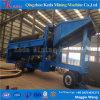 400tph Gold Separator, Gold Washing Trommel Screen Export to Madagascar