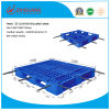 EU Standard Pallet 1200*1000*150mm HDPE Heavy Duty Plastic Pallet Rack Load 1ton Pallet for Warehouse Storage Products (with 6 steel tubes)