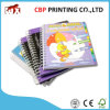 Custom Full Color Children Spiral Board Book Printing