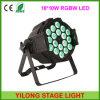 Strong Aluminum 18X10W Quad Color Best Price LED PAR64 Light