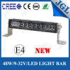 Automotive CE RoHS E-MARK 48W CREE LED Light Bar