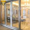 Thermal Break New Design Aluminum Sliding Door with Tempered Glass