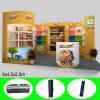 Portable Reusable&Versatile Exhibition Products Display Booth