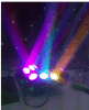 LED 9 Eyes Spider Moving Head Beam Disco Party Light