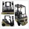 2.0 Ton LPG and Gasoline Forklift Double Fuel Forklift