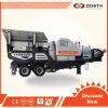 High Technical and Large Capacity Trailer Stone Mobile Crusher