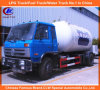 Dongfeng 4*2 LPG Gas Cylinder Refilling Bobtail Trucks 5mt for Sale
