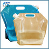 Travel Custom Logo Folding Plastic Water Bottle Bucket for Camping