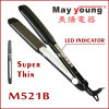 Factory Cheap Titanium Plate LED Display Hair Straightener