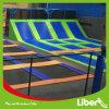 Large Indoor Trampoline with Enclosure